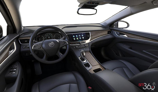 2018 Buick LaCrosse PREMIUM | Photo 3 | Ebony w/Ebony Accents w/Perforated Leather-Appointed
