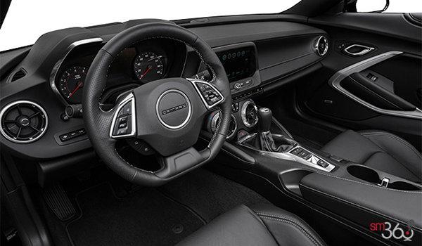 2018 Chevrolet Camaro convertible 2LT   Photo 2   Jet Black Leather  (HOY-A50)