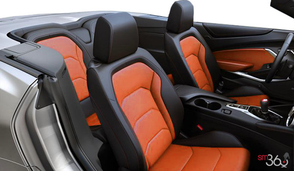2018 Chevrolet Camaro convertible 2SS | Photo 1 | Jet Black Leather with Orange Inserts (HUZ-A50)