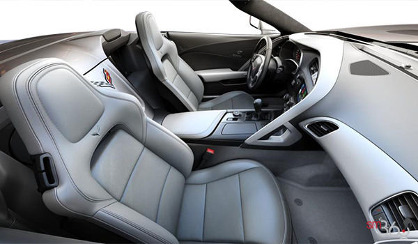 2018 Chevrolet Corvette Convertible Stingray 2LT | Photo 1 | Grey GT buckets Leather seating surfaces with sueded microfiber inserts (144-AQ9)