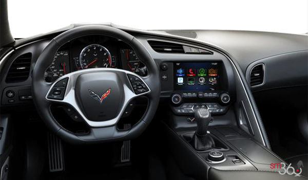 2018 Chevrolet Corvette Convertible Stingray 2LT | Photo 3 | Jet Black GT buckets Leather seating surfaces with sueded microfiber inserts (194-AQ9)