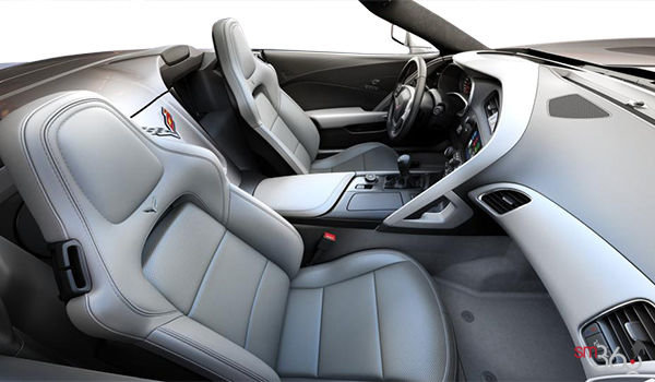 2018 Chevrolet Corvette Convertible Stingray 2LT | Photo 1 | Grey GT buckets Perforated Mulan leather seating surfaces (143-AQ9)