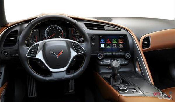 2018 Chevrolet Corvette Convertible Stingray 2LT | Photo 3 | Kalahari GT buckets Perforated Mulan leather seating surfaces (343-AQ9)
