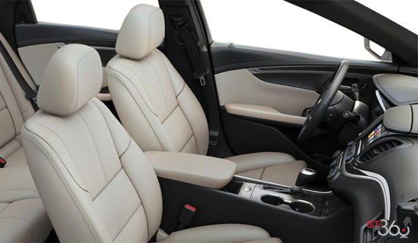 2018 Chevrolet Impala 1LT | Photo 1 | Jet Black/Light Wheat Leather ((HV9-A51)