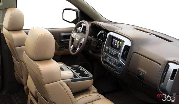 2018 Chevrolet Silverado 1500 LTZ 1LZ   Photo 1   Cocoa/Dune Leather (B3F-H0K)