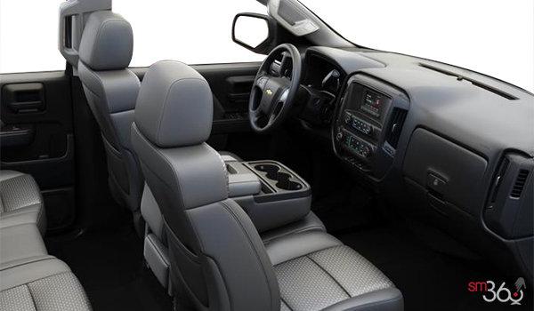 2018 Chevrolet Silverado 2500HD WT   Photo 1   Dark Ash/Jet Black Cloth (AE7-H2R)
