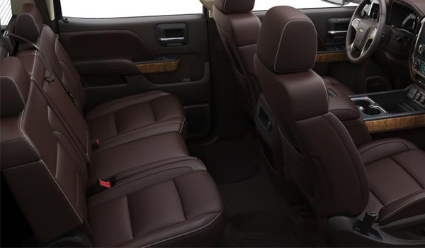 2018 Chevrolet Silverado 3500 HD HIGH COUNTRY | Photo 2 | Saddle Perforated Leather Buckets Seats (HQZ-AN3)
