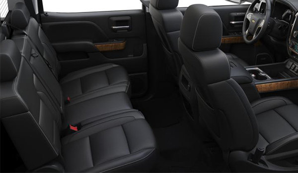 2018 Chevrolet Silverado 3500 HD HIGH COUNTRY | Photo 2 | Jet Black/Medium Ash Grey Perforated Leather Buckets Seats(H4S-AN3)
