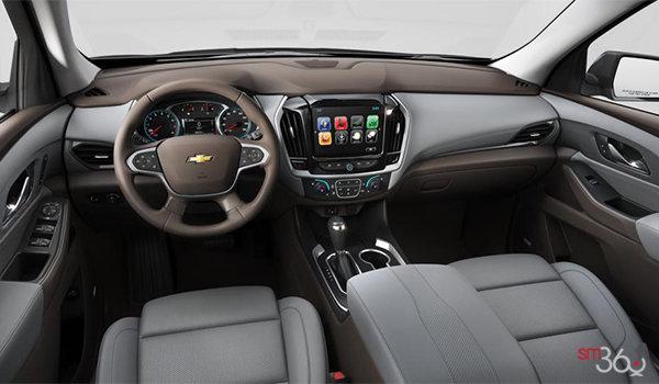 2018 Chevrolet Traverse PREMIER   Photo 3   Dark Atmosphere/Medium Ash Grey Perforated Leather