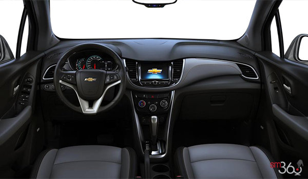 2018 Chevrolet Trax PREMIER | Photo 3 | Jet Black/Light Ash Grey Bucket seats Leatherette (AEX-AR9)