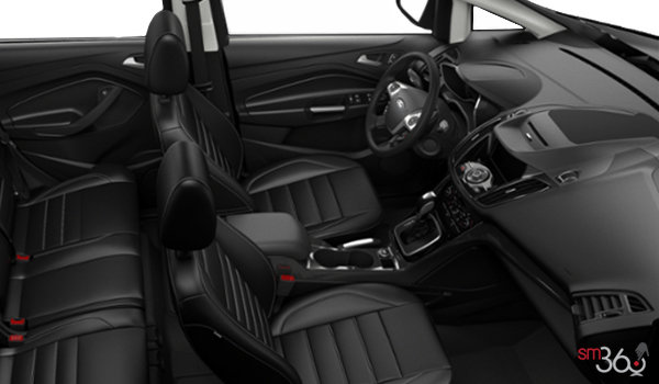 2018 Ford C-MAX HYBRID TITANIUM   Photo 1   Charcoal Black Leather (DW)