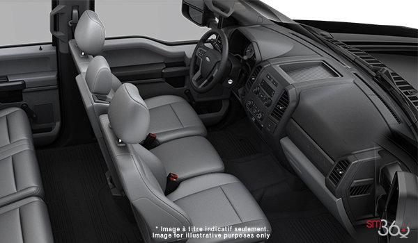2018 Ford Chassis Cab F-350 XL   Photo 1   Medium Earth Grey HD Vinyl (LS)
