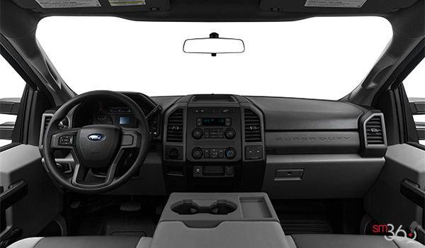 2018 Ford Chassis Cab F-350 XL   Photo 3   Medium Earth Grey HD Vinyl Bench (AS)