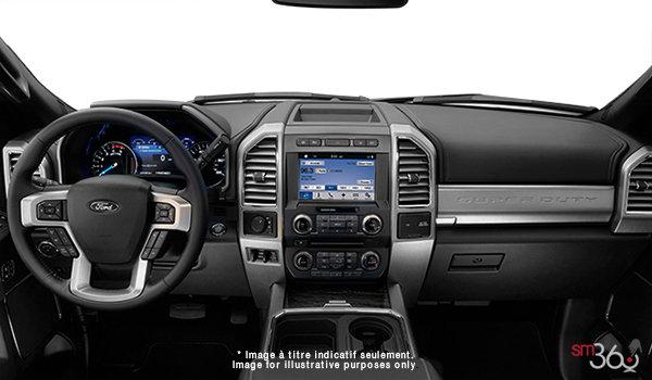 2018 Ford Chassis Cab F-550 LARIAT | Photo 3 | Black Premium Leather Split Bench (6B)