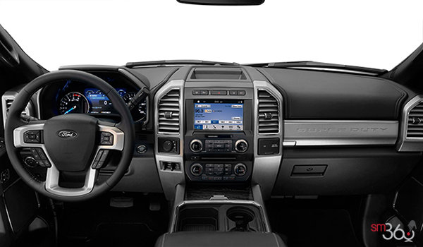 2018 Ford Chassis Cab F-550 LARIAT | Photo 3 | Black Premium Leather Captain's Chairs (5B)