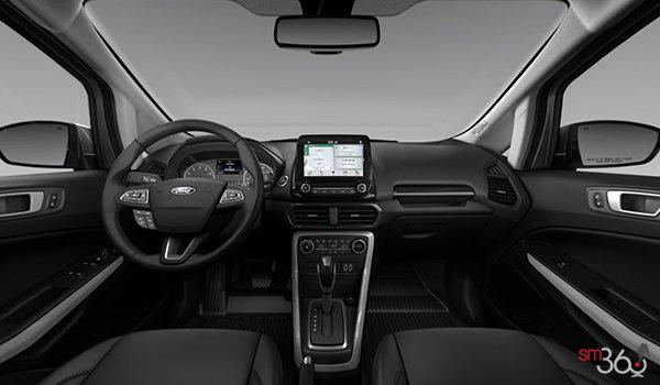 2018 Ford Ecosport TITANIUM | Photo 3 | Ebony Black Perforated Leather