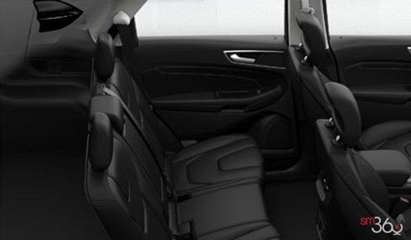 2018 Ford Edge TITANIUM   Photo 2   Ebony Perforated Leather