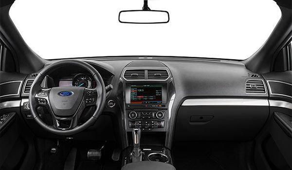 2018 Ford Explorer XLT | Photo 3 | Ebony Black with Fire Orange Contrast Stitching