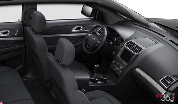 2018 Ford Explorer XLT | Photo 1 | Ebony Black Unique Cloth  (8W)