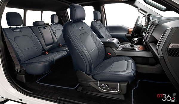 2018 Ford F-150 LIMITED | Photo 1 | Black Leather Buckets Seats (TB)