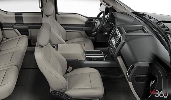 2018 Ford F-150 XLT   Photo 1   Medium Light Camel Cloth Bucket Seats (UC)