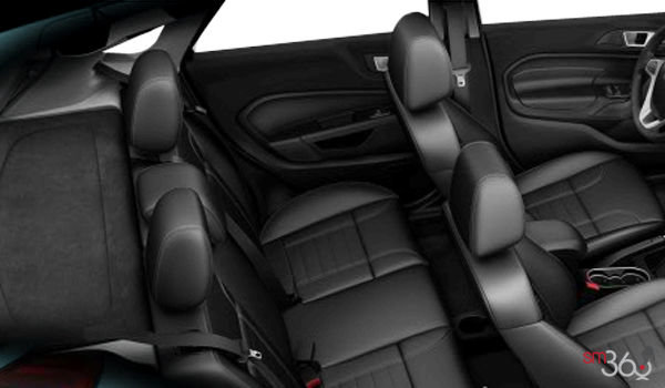 2018 Ford Fiesta Hatchback TITANIUM | Photo 2 | Charcoal Black Leather (DD)