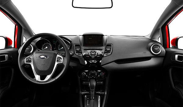 2018 Ford Fiesta Hatchback TITANIUM | Photo 3 | Charcoal Black Leather (DD)