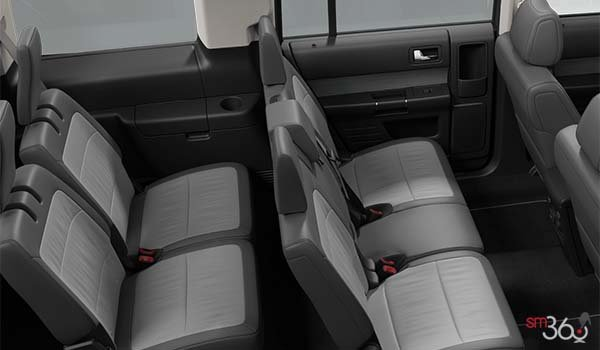 2018 Ford Flex LIMITED | Photo 2 | Two-Tone Leather Light Earth Grey/Dark Earth
