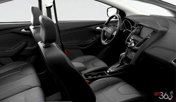 2018 Ford Focus Sedan TITANIUM | Photo 1 | Charcoal Black Leather