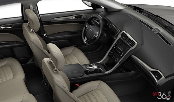 2018 Ford Fusion Hybrid S | Photo 1 |  Medium Light Stone Cloth (DE)