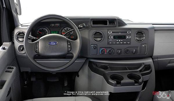 2018 Ford E-Series Cutaway 350 | Photo 3 | Medium Flint Cloth Captain's Chairs (ME)