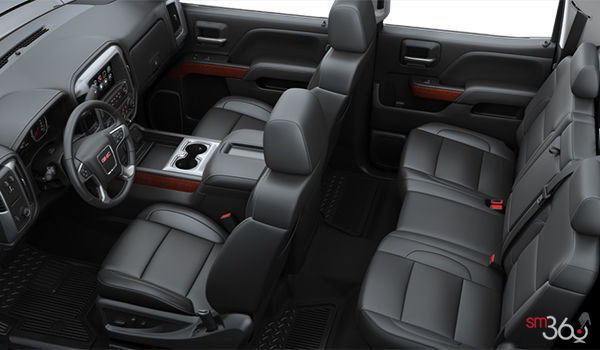 2018 GMC Sierra 1500 SLT | Photo 2 | Jet Black Bucket seats Leather (AN3-H2U)