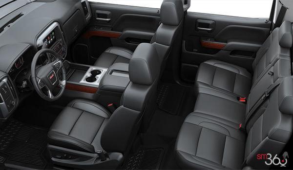 2018 GMC Sierra 1500 SLT | Photo 2 | Jet Black Bucket seats Perforated Leather (AN3-H3B)