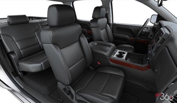 2018 GMC Sierra 1500 SLT | Photo 1 | Jet Black Bucket seats Perforated Leather (AN3-H3B)