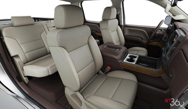 2018 GMC Sierra 3500HD SLE   Photo 1   Cocoa/Dune Bucket seats Cloth (H2T-A95)