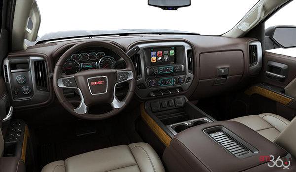 2018 GMC Sierra 3500HD SLT | Photo 3 | Cocoa/Dune Bucket seats Leather (H0K-AN3)