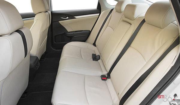 2018 Honda Civic Sedan TOURING   Photo 2   Ivory Leather