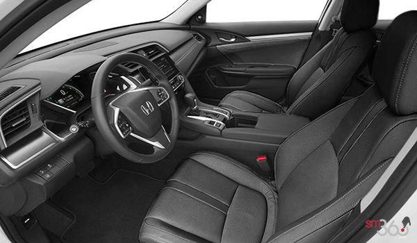 2018 Honda Civic Sedan TOURING   Photo 1   Black Leather