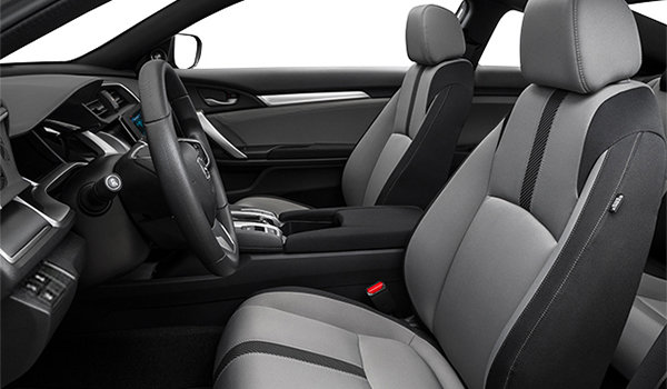 2018 Honda Civic Coupe EX-T HONDA SENSING   Photo 1   Grey Fabric