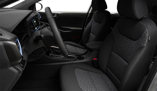 2018 Hyundai Ioniq Hybrid BLUE   Photo 1   Black Cloth