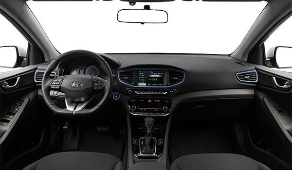 2018 Hyundai Ioniq Hybrid BLUE   Photo 3   Black Cloth