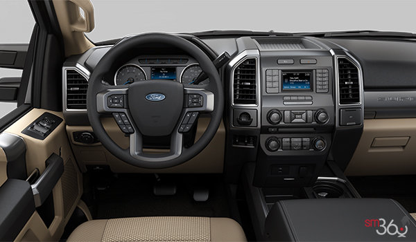 2018 Ford Super Duty F-450 XLT | Photo 3 | Camel Cloth Luxury Captain's Chairs (2A)