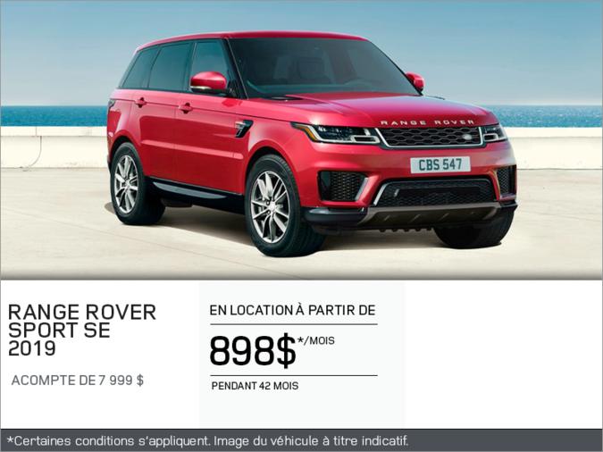Le Range Rover Sport SE 2019