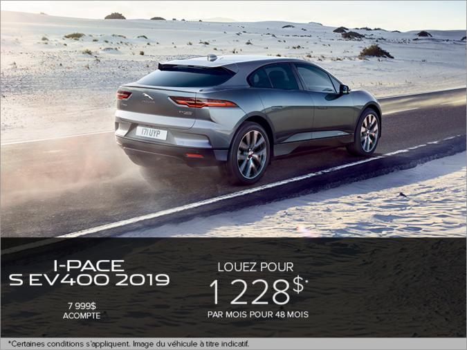 La Jaguar I-PACE 2019