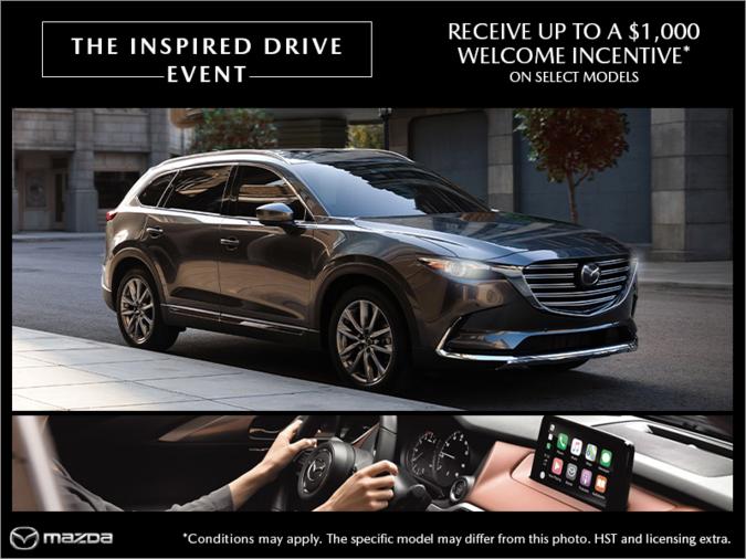 Half-Way Motors Mazda - The Inspired Drive Event