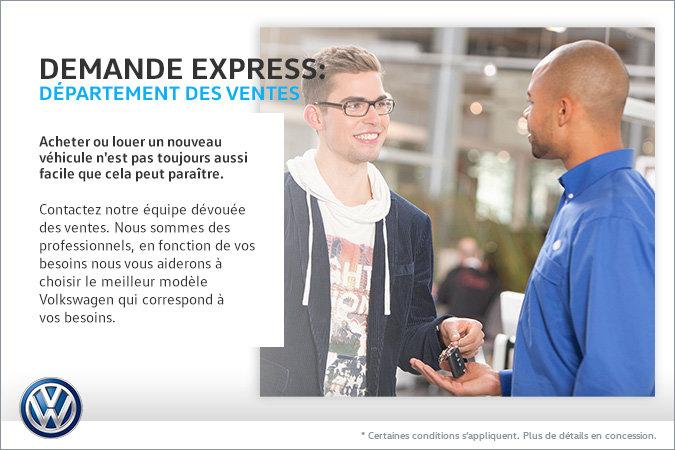 Demande express!