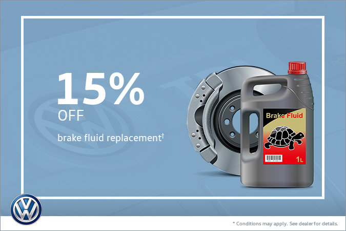 15% Off Brake Fluid Replacement
