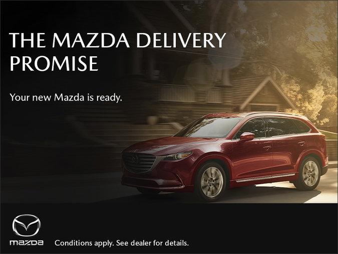 Half-Way Motors Mazda - The Mazda Delivery Promise