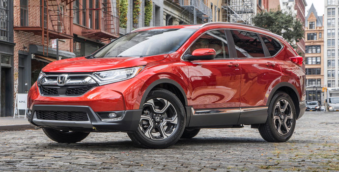 Honda CR-V takes home then 2018 Motor Trend SUV of the Year for the 2nd year in a row