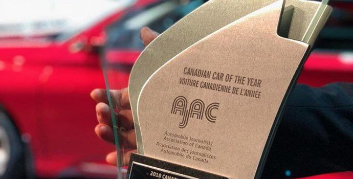 2018 Honda Accord officially named Canadian Car of the Year by AJAC